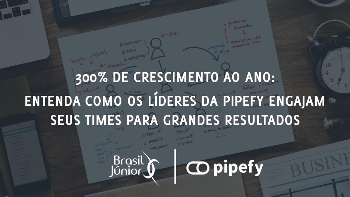 300% de crescimento ao ano: Como os líderes da Pipefy engajam seus times para grandes resultados